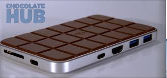 review chocolate hub 2 is a desk companion and an even