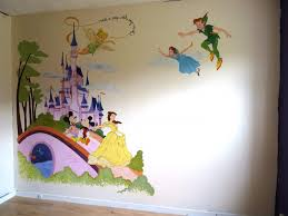 Creative And Educational Wall Murals For Kids Disney Murals - Tidy books bunk bed buddy