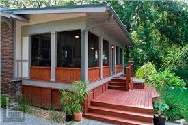 screen porch building plans modern shed roof screened porch plans