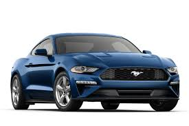 frozen mustang 2018 ford mustang ecoboost fastback sports car model details