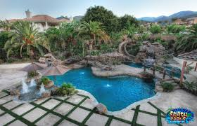 Lagoon Style Pool Designs by Triyae Com U003d Custom Backyard Pool Designs Various Design