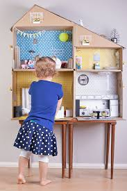 Make Your Own Toy Box Pattern by 6 Ways To Make A Cardboard Dollhouse Cardboard Dollhouse Diy