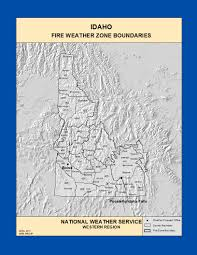 idaho zone map maps idaho weather zone boundaries