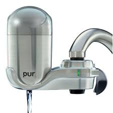 Kitchen Faucet Water Purifier by Pur Advanced Faucet Water Filter Chrome Fm 3700b Target Sinks