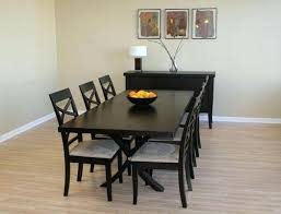 black and wood dining table wooden dining table and chairs cbat info