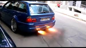 Bmw M3 Wagon - 800 hp bmw m3 e46 touring anti lag back fire brutal