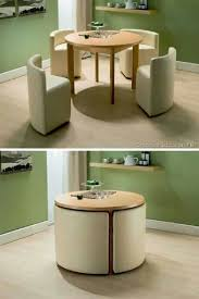 Space Saving Table And Chairs by 25 Best Compact Furniture Ideas On Pinterest Tiny House