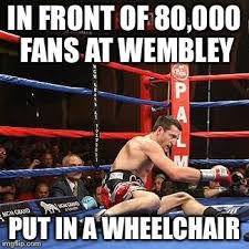 but can he do it in front of 80 000 fans at wembley put in a