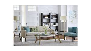 Apartment Sized Furniture Living Room Rochelle Apartment Size Sofa In Sofas Reviews Crate And Barrel