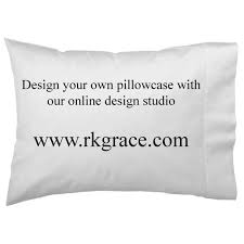 design your own pillowcase wars hans personalized custom pillowcase set