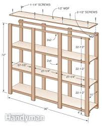 Basement Storage Shelves Woodworking Plans by How To Build Inexpensive Basement Storage Shelves We Allbuild