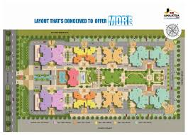Greenpark Homes Floor Plans Amaatra Homes New Project 2 3 Bhk Flats Noida Extension New