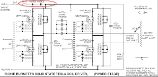 solid state tesla coil burning mosfets page 6 electronics
