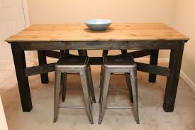 small round rustic kitchen table kitchen crafters