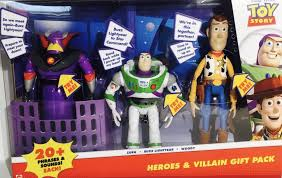 amazon disney pixar toy story heroes u0026 villain gift pack