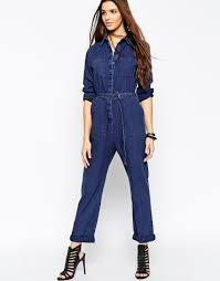 sleeveless denim jumpsuit 10 denim jumpsuits for summer the