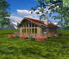 Plans For Retirement Cabin Log Homes From 1 250 To 1 500 Sq Ft Custom Timber Log Homes