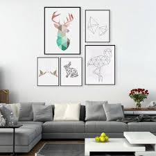 Nordic Decoration Compare Prices On Geometrical Paintings Online Shopping Buy Low
