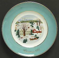 christmas plates avon christmas plate at replacements ltd
