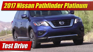 nissan pathfinder platinum 2017 nissan pathfinder platinum awd youtube