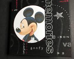 Mickey Mouse Photo Album Mickey Mouse Flip Book Mickey Mini Album Mickey Flip Scrapbook