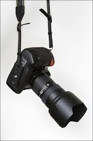 Comfortable Camera Strap Attaching The Nikon Neck Strap Vertically Tangents