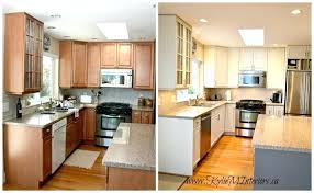 painting dark cabinets white painting oak kitchen cabinets white before and after love white