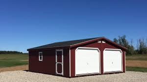 12 Car Garage by 1 Story 2 Car Garage Fox Run Storage Sheds