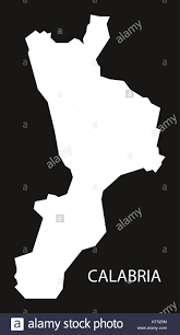Map Italy Silhouettes Italian Cities by Map Of Calabria Stock Photos U0026 Map Of Calabria Stock Images Alamy
