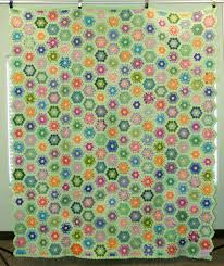 flower garden quilt pattern the quilt index