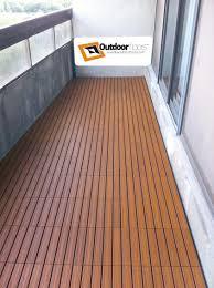 teak patio flooring tiles home design