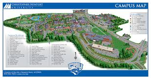 Show Me A Picture Of The World Map by Campus Map Visit Christopher Newport University