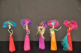 mini catrina corn husk doll 0r ornament martina la