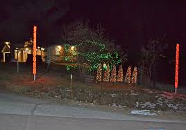 local builds synchronized light display news sports