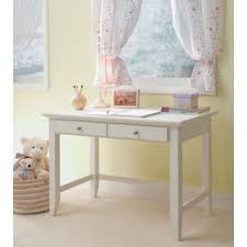 Individual Student Desks Contemporary Two Drawer Student Desk In White Free Shipping
