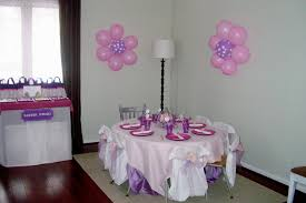 simple birthday decoration decorating of party