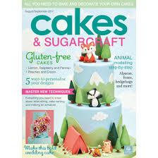 cakes u0026 sugarcraft magazine august september 2017 squires
