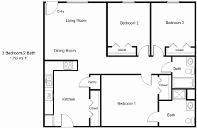 3 bed 2 bath house plans 45 elegant pictures of townhome floor plans house and floor plan