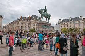 chambre de commerce orleans place du martroi the square of orleans editorial