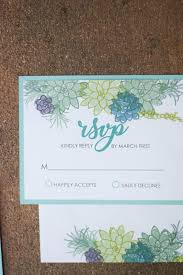 Succulent Wedding Invitations The Bridal Boutique Succulent Wedding Invitation Suite U2014 The