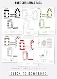 free printable holiday gift tags jones design company