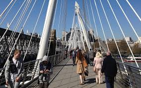 hungerford bridge hungerford bridge and golden jubilee bridge london in photos