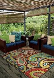 Outdoor Area Rugs For Decks Colette Indoor Outdoor Rug Outdoor Areas Transitional Style And
