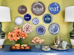 modern kitchen plates modern decorative wall plates hgtv