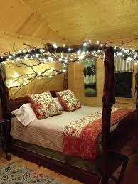 Tree Bed Frame Lakefront 3 2 Log Home King Tree Bed Homeaway