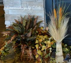 let u0027s decorate a fall mantel surroundings by debi