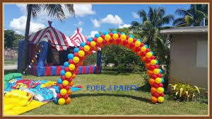 circus balloon circus party decorations