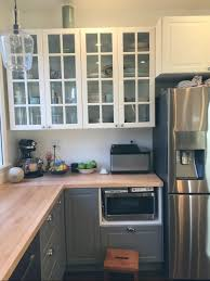 Ikea Kitchen Ideas Small Kitchen Downton Abbey Ikea Kitchen Bodbyn Glass Doors In White For The