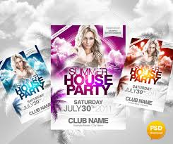 open house flyer free psd format download on brochure templates