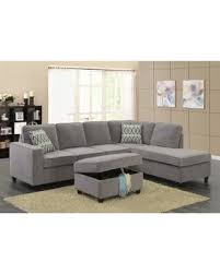 here u0027s a great price on lyke home courtlee reversible sectional